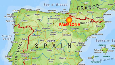 Map Of Spain Pamplona.Auburn University Offers Summer Study Abroad Course In