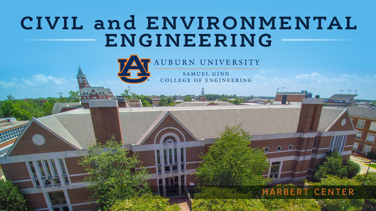 The Harbert Center is home to the Department of Civil and Environmental Engineering within the Samuel Ginn College of Engineering.