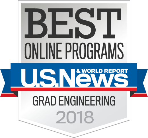 US News and World report - Best online graduate engineering programs