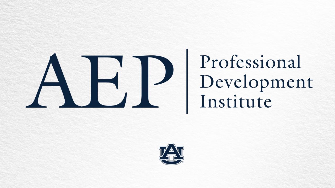 AEP Professional Development Institute