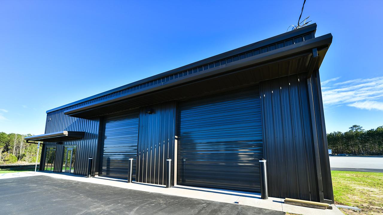Auburn University's new autonomous vehicle research facility