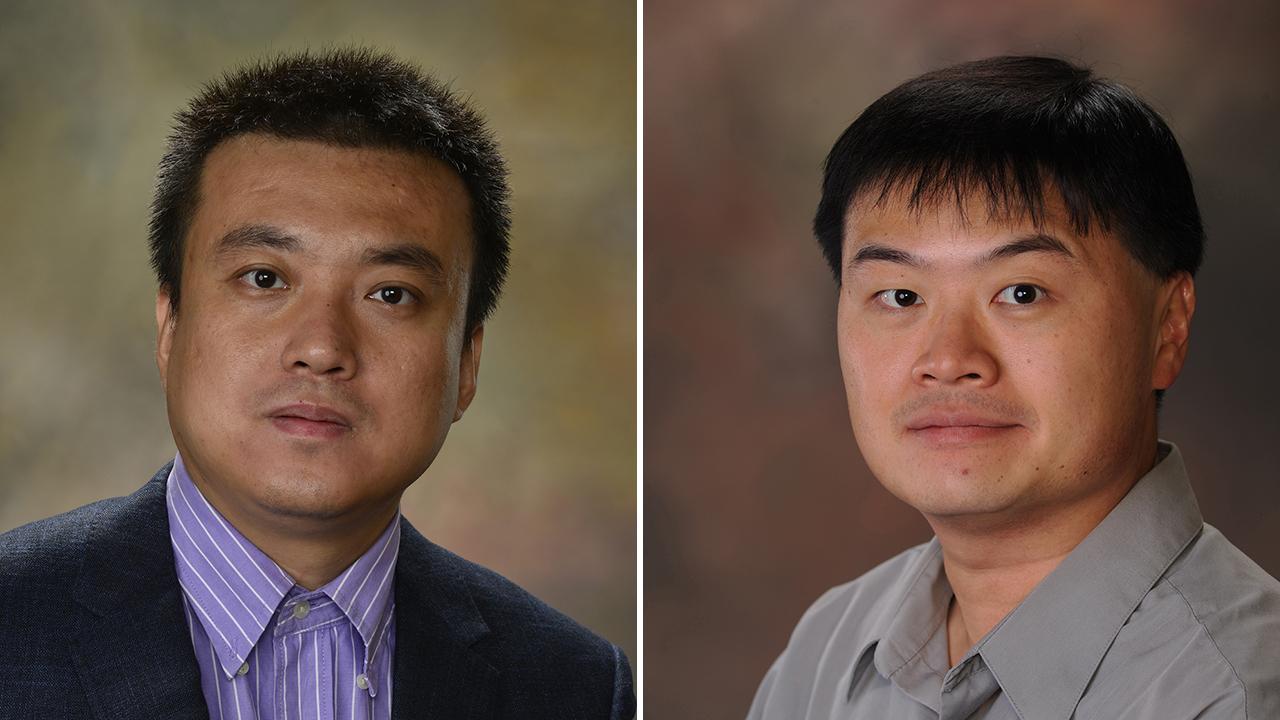 Bo Liu (left) and Wei-Shinn (Jeff) Ku
