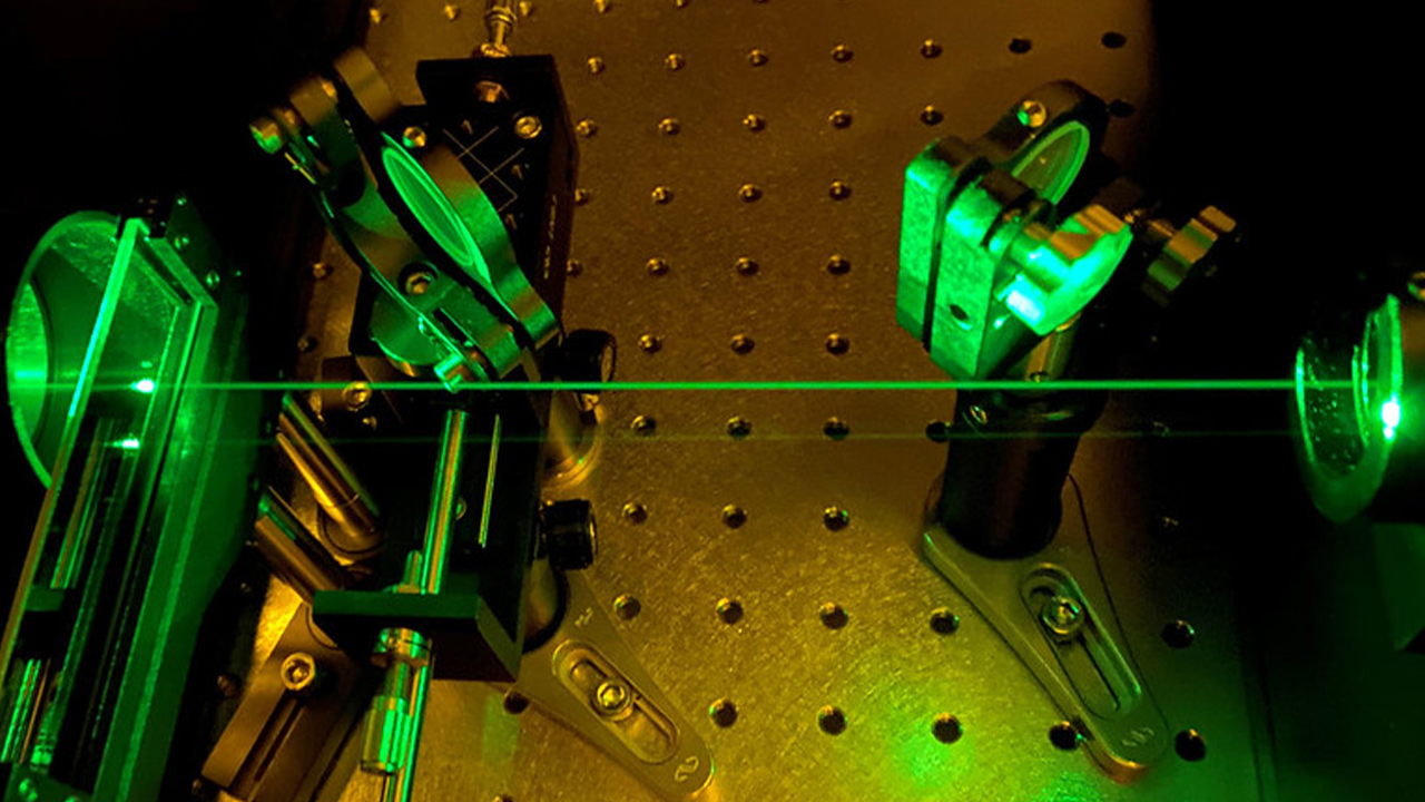 """""""Green (520 nm) femtosecond laser used for micro/nano fabrication."""