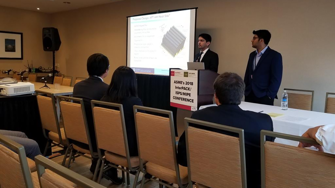 Mechanical engineering students win national additive manufacturing competition