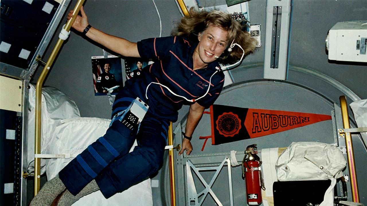 Jan Davis in space