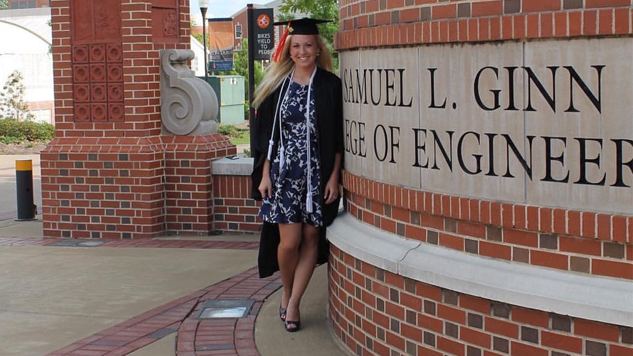 Manda Tucker, '16 industrial and systems engineering