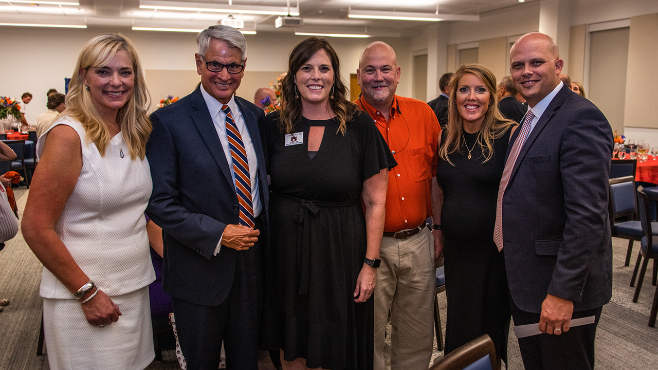 From left: Catherine Thompson, Dan Bush, Katie Hardy, Robbie Hardy, Stephanie Mattox and David Mattox