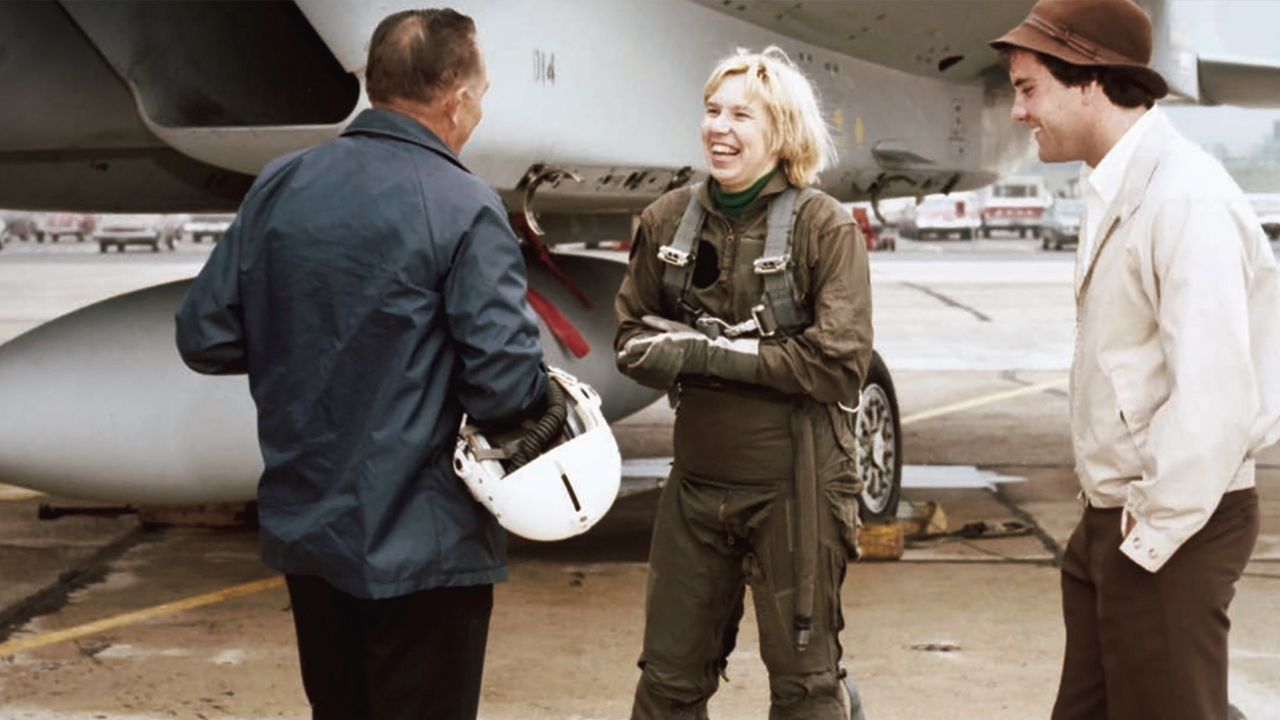 On April 29, 1980, Nelda Lee became the first woman to fly an F-15 Eagle, the plane she helped design and devoted nearly half a century to.
