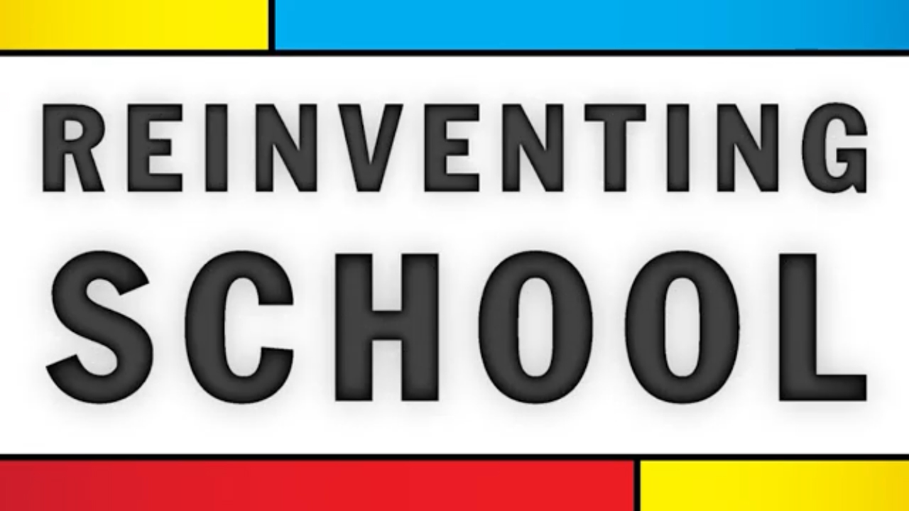 "The ""Reinventing School"" logo"