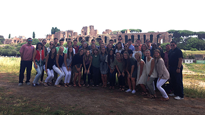 The International Engineering and Business Study Abroad program in Rome was held for the first time in 2016.
