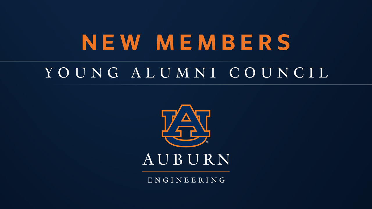 Auburn Engineering Young Alumni Council welcomes new members