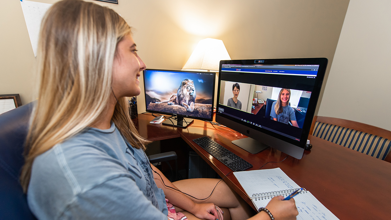 Auburn Engineering faculty and students have made Zoom a centerpiece of online learning.