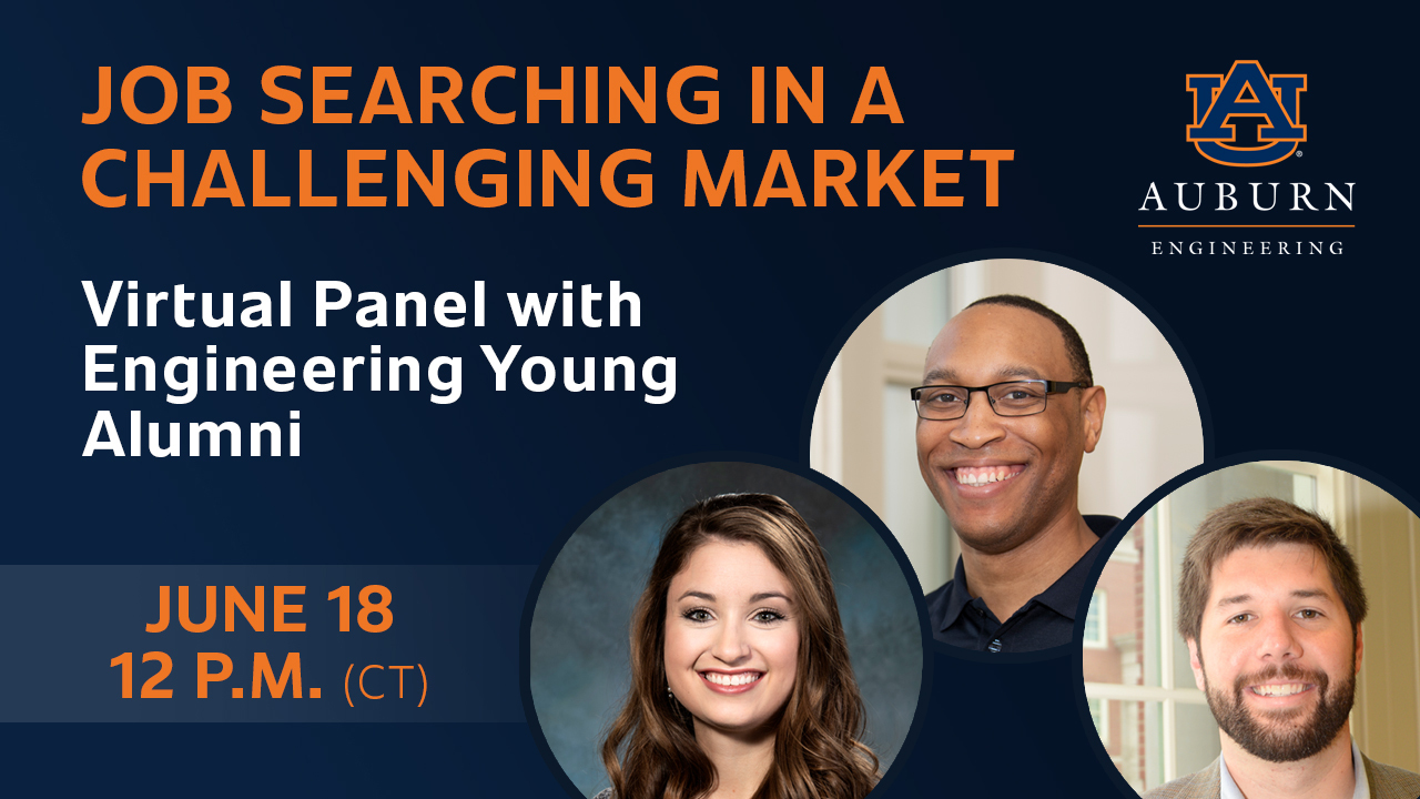 A virtual panel discussion featuring engineering young alumni will take place Thursday, June 18.