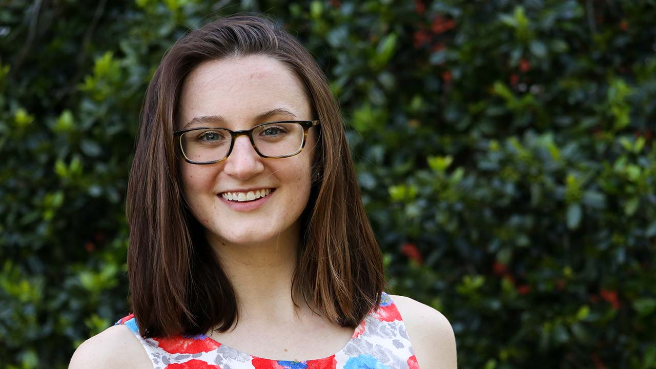 Jill Joffe, a senior in aerospace engineering, has received an NSF fellowship