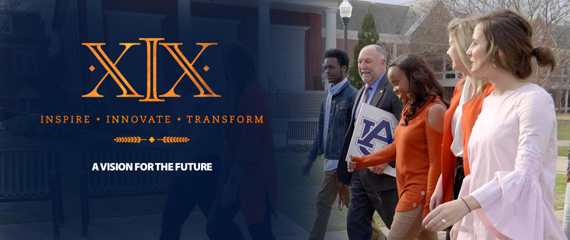 A vision for the future Dr. Leath will be installed as Asuburn University president during a March 29 ceremony in Auburn Arena.