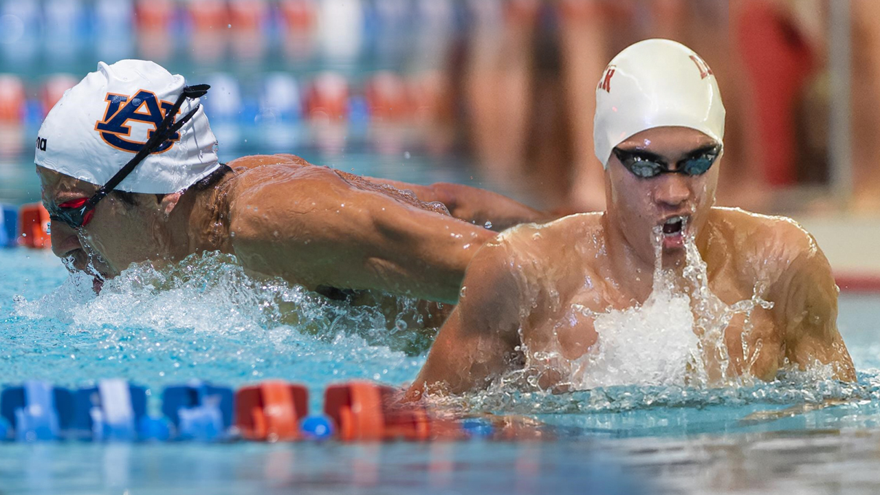 Ginn College alumnus Luis Martinez, left, and graduate student Adriel Sanes will compete in the upcoming Summer Olympics.