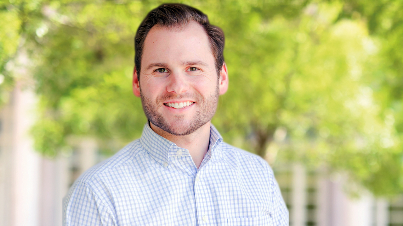 Doctoral candidate Richard Cullum