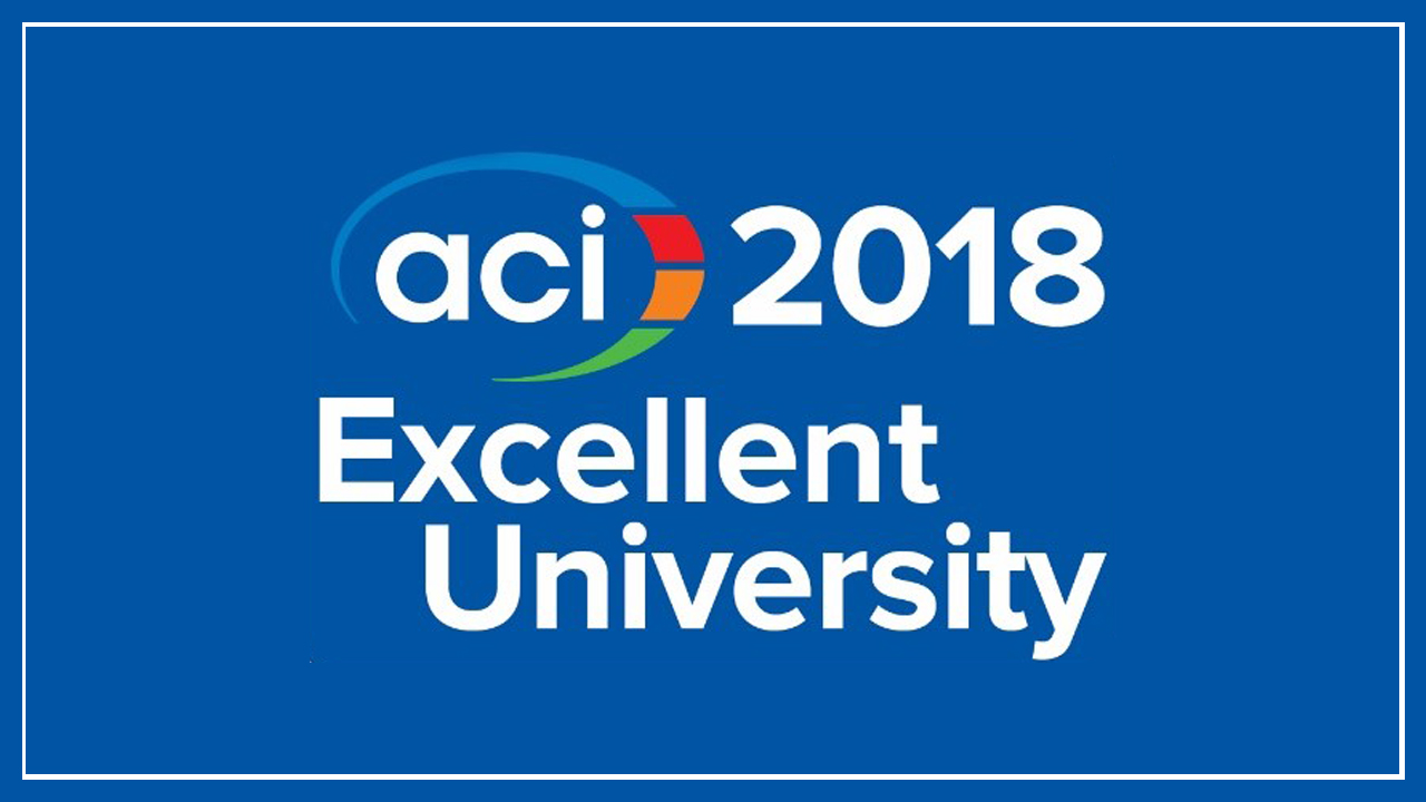 Auburn has been named as an American Concrete Institute Excellent University for the fourth year in a row