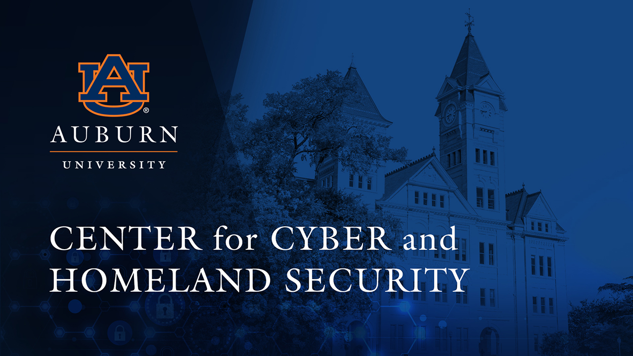 Auburn University Center for Cyber and Homeland Security