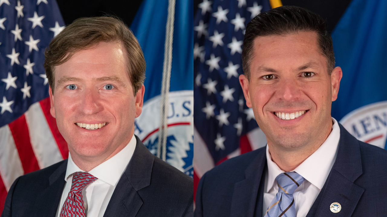 CISA Director Christopher C. Krebs and Assistant Director Brian Harrell