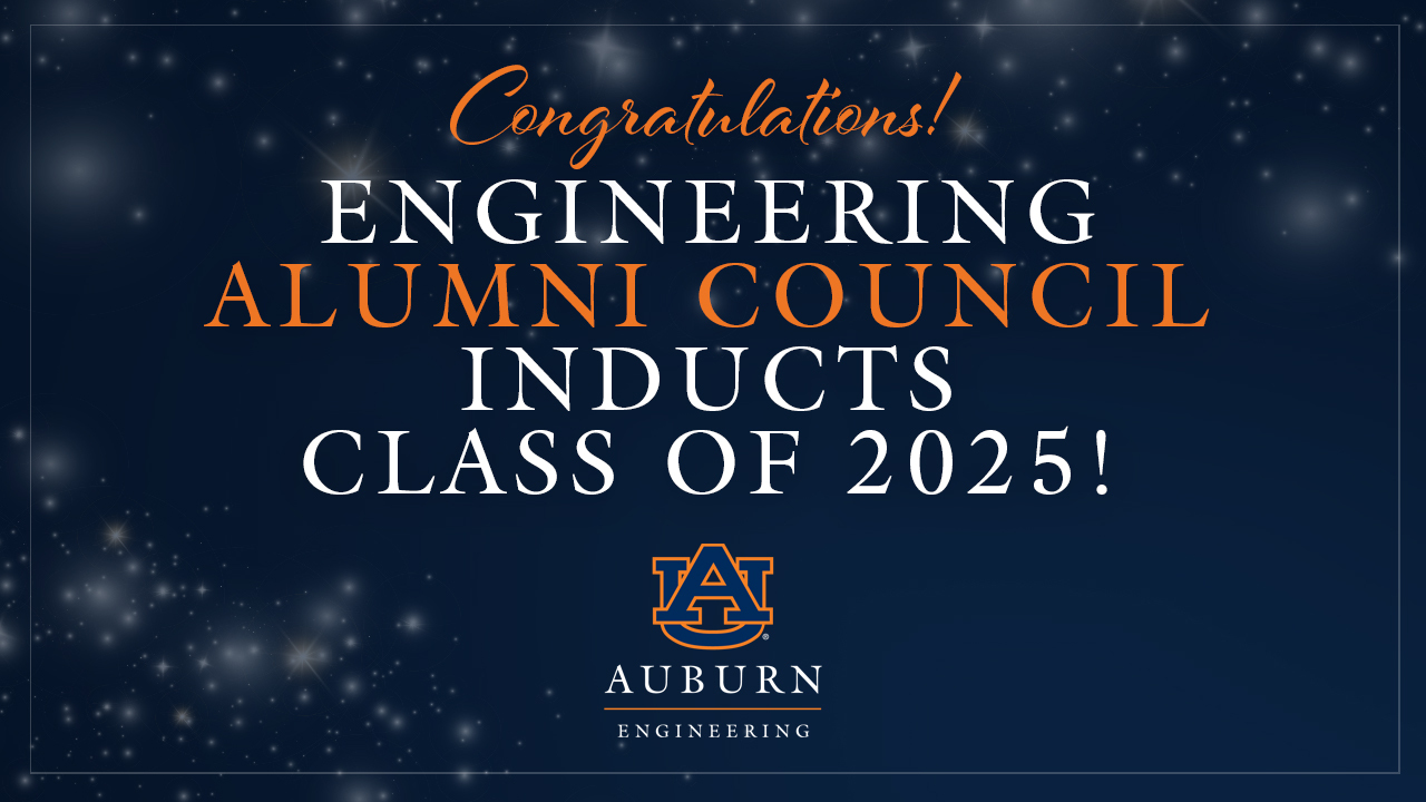 Auburn Alumni Engineering Council Class of 2025