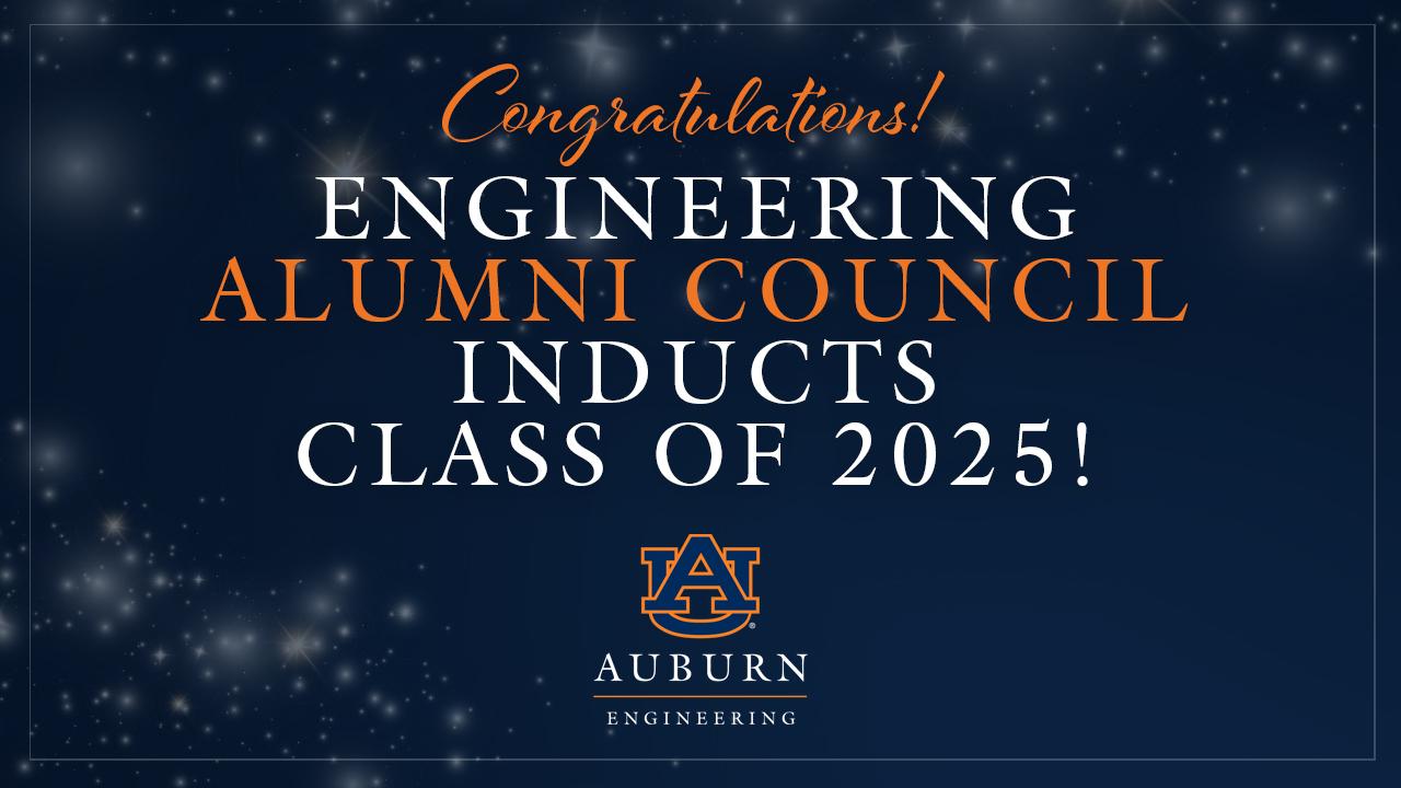 Auburn Alumni Engineering Council Class of 2025