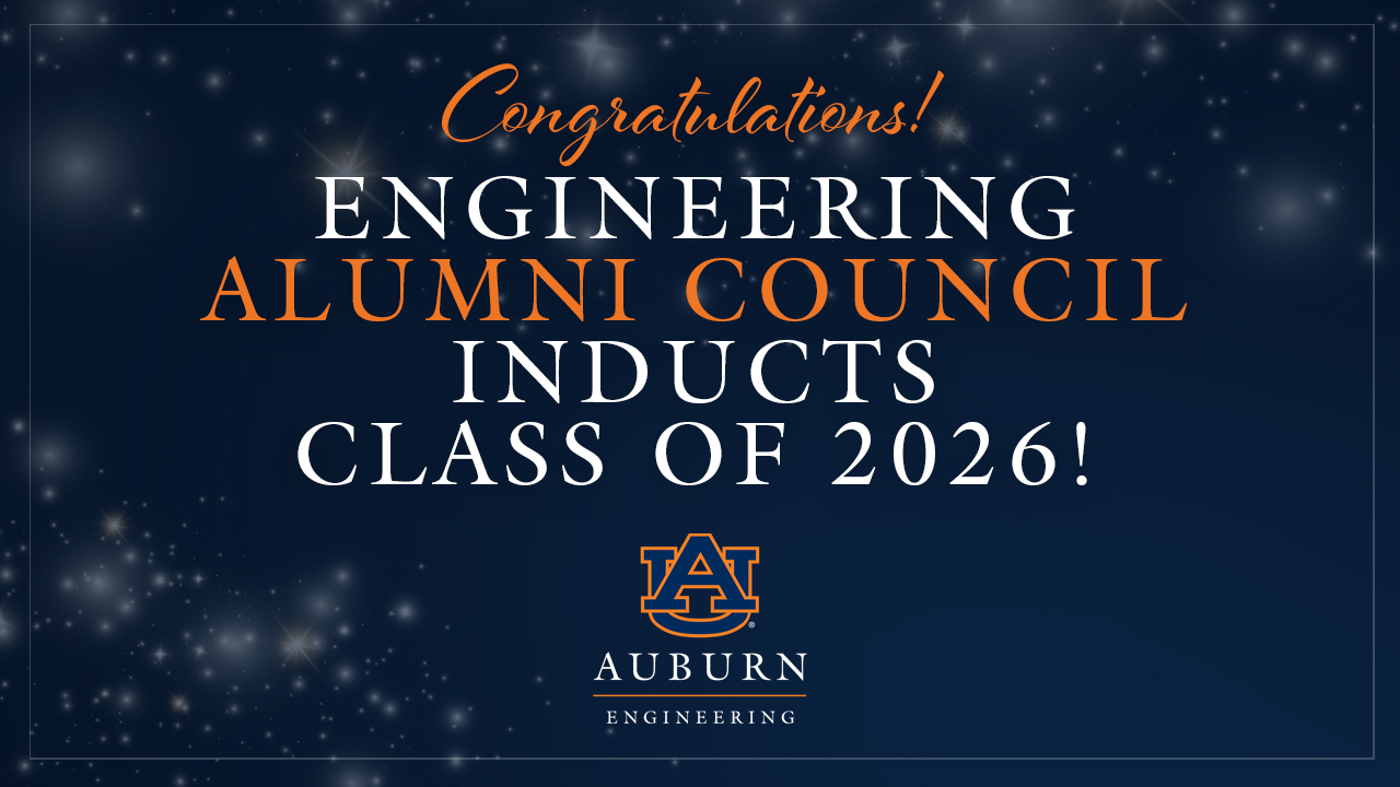 The Auburn Alumni Engineering Council was established in 1965 and is a group of Auburn Engineering alumni who work together to support the vision and goals of the Samuel Ginn College of Engineering.