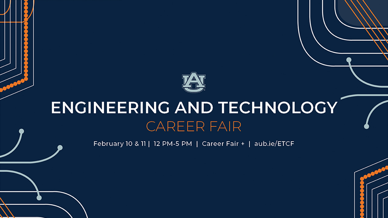 The virtual Engineering and Technology Career Fair will take place Feb. 10-11.