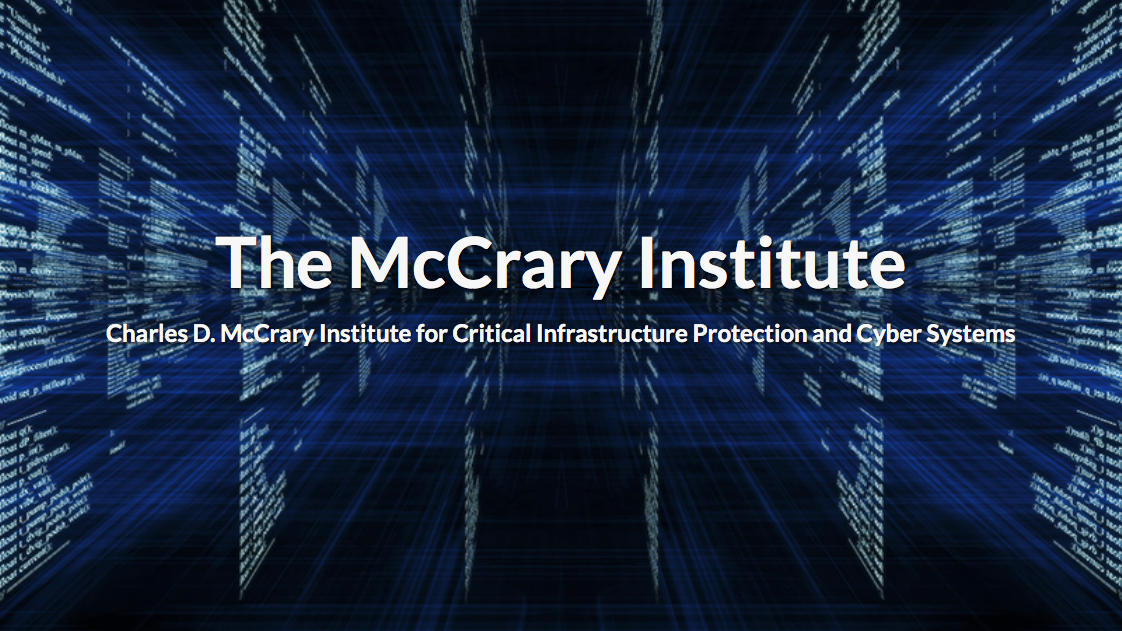 Frank Cilluffo has been named as the new director of the McCrary Institute