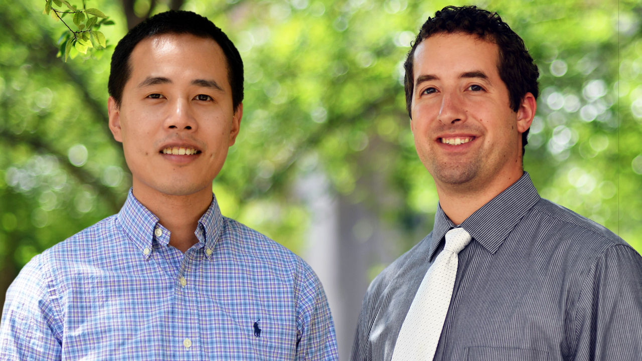 Assistant professors Pengyu Chen and Robert Pantazes