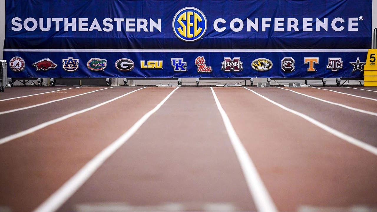 The SEC's Spring Academic Honor Roll includes student-athletes from track & field.