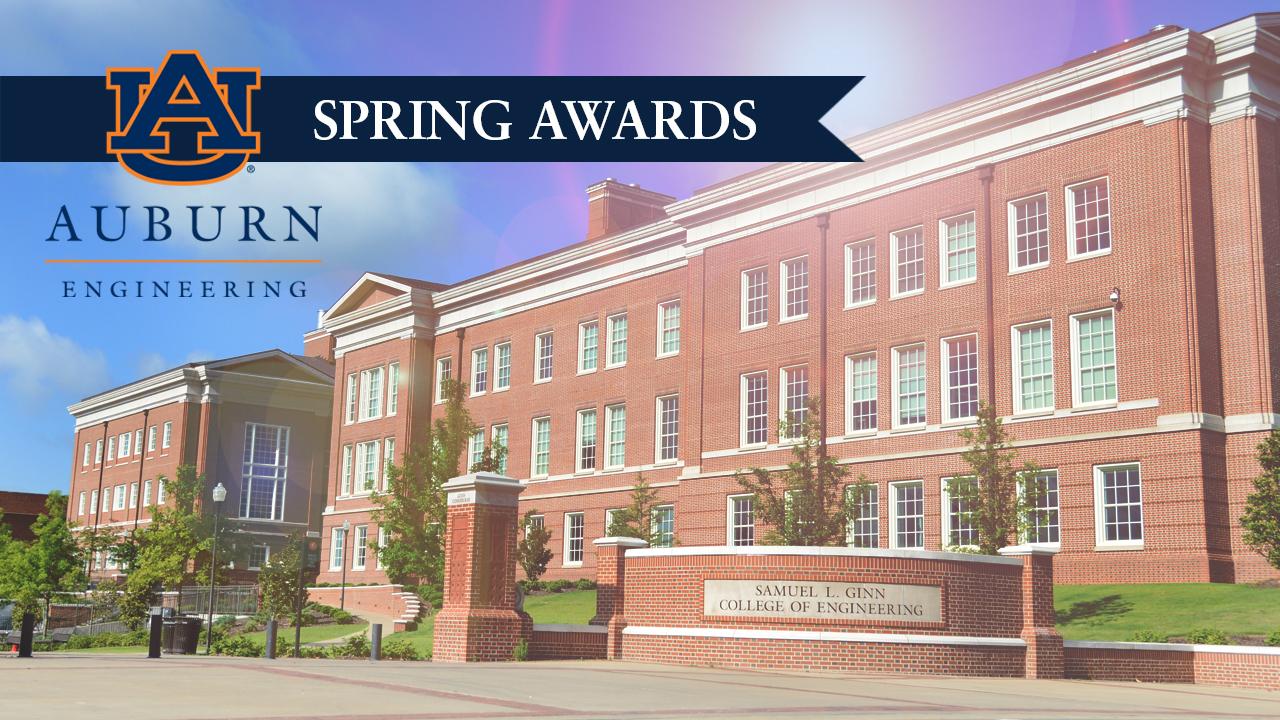 Auburn Engineering announces 2019-2020 spring award recipients.