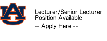 CSSE Lecturer/Senior Lecturer Position Available -- Apply Here