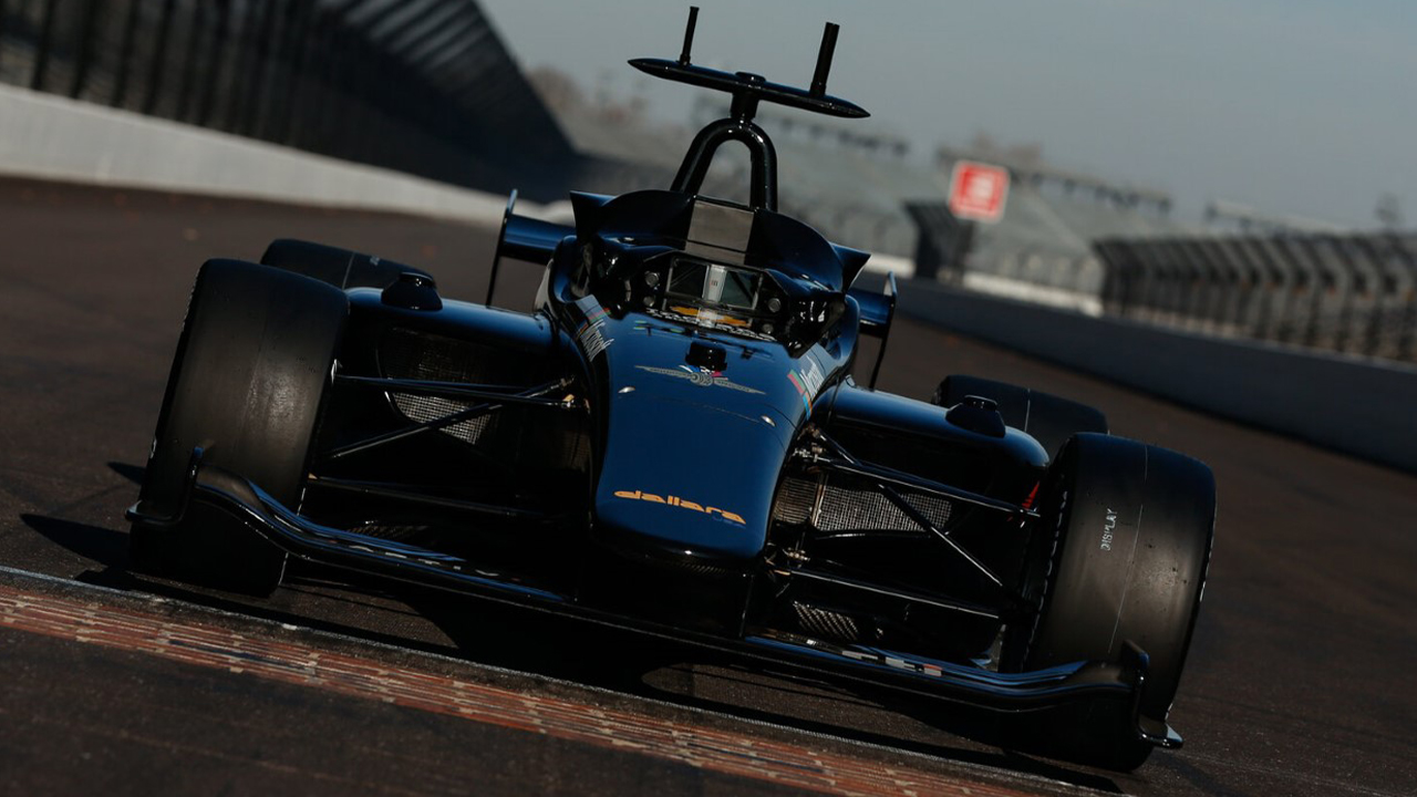 A Dallara Indy Lights car will be featured in the Indy Autonomous Challenge.