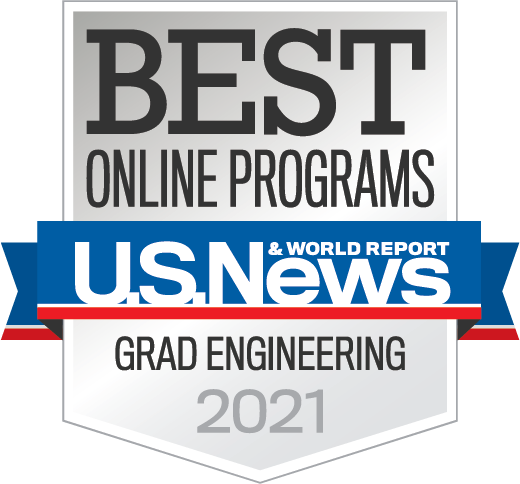 US News Badge - Best Grad Engineering 2020