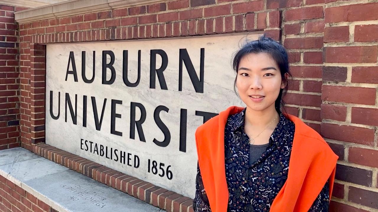 Yaeji Kim, aerospace engineering graduate student.