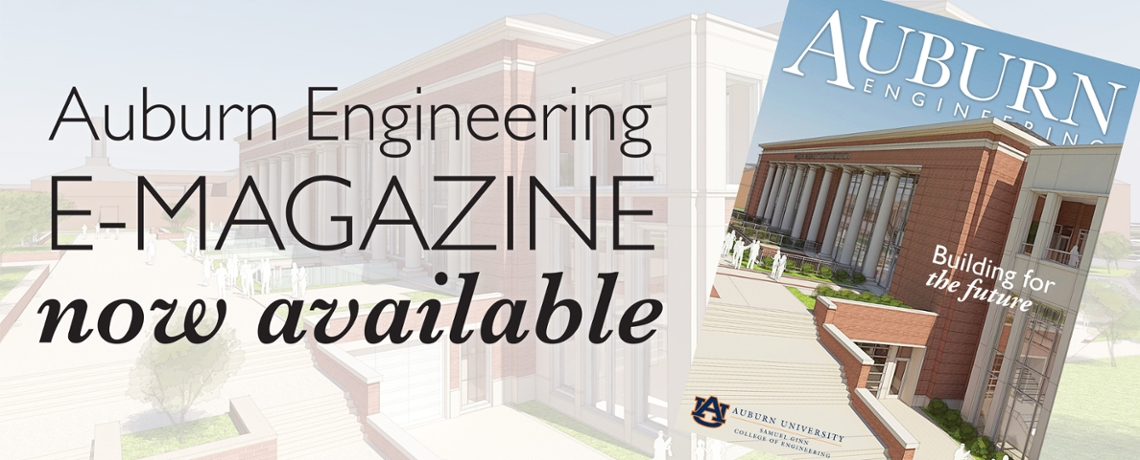 Auburn Engineering Spring Magazine Spring 2017 now available