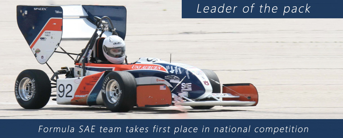 Auburn University's Formula SAE Racing Team wins national competition