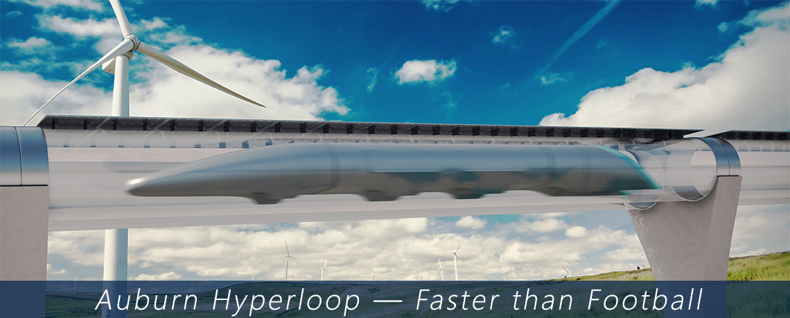 Auburn University plays a role in hyperloop technology