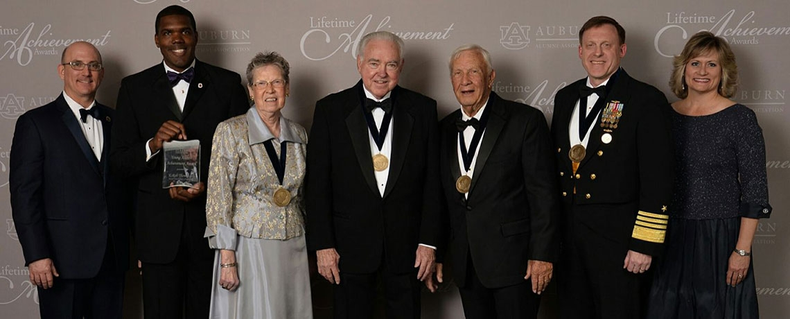 Three alumni awarded with university's top honor