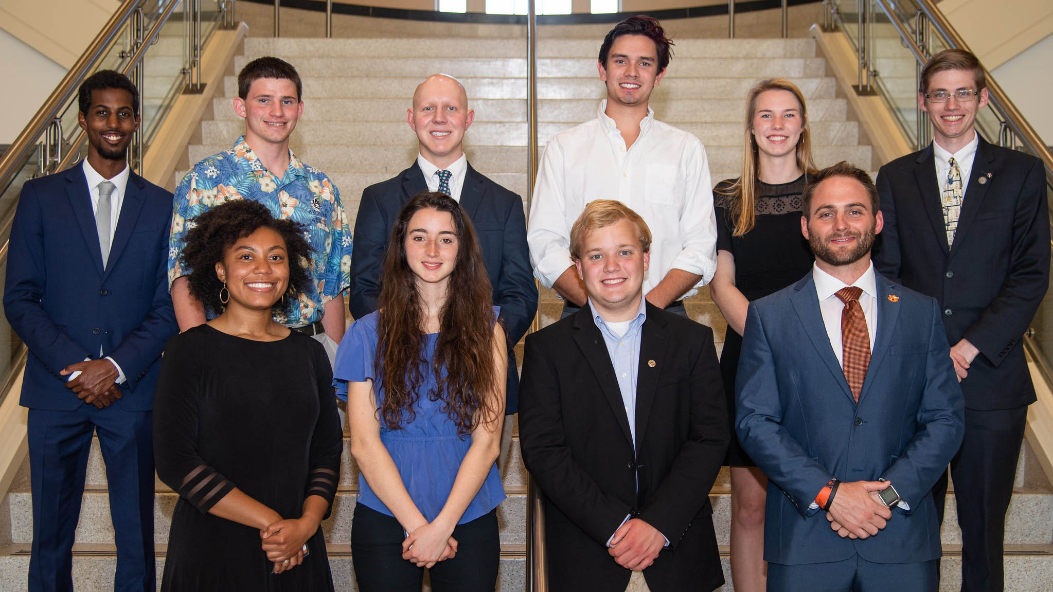 The Samuel Ginn College of Engineering's inaugural class of Grand Challenges Scholars.