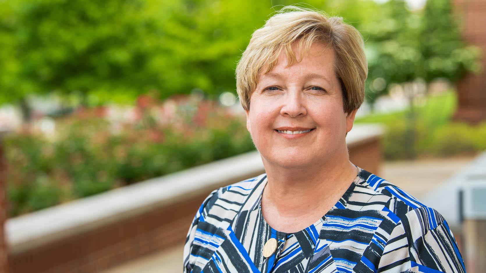 Janet Moore, director of Academic Advising.