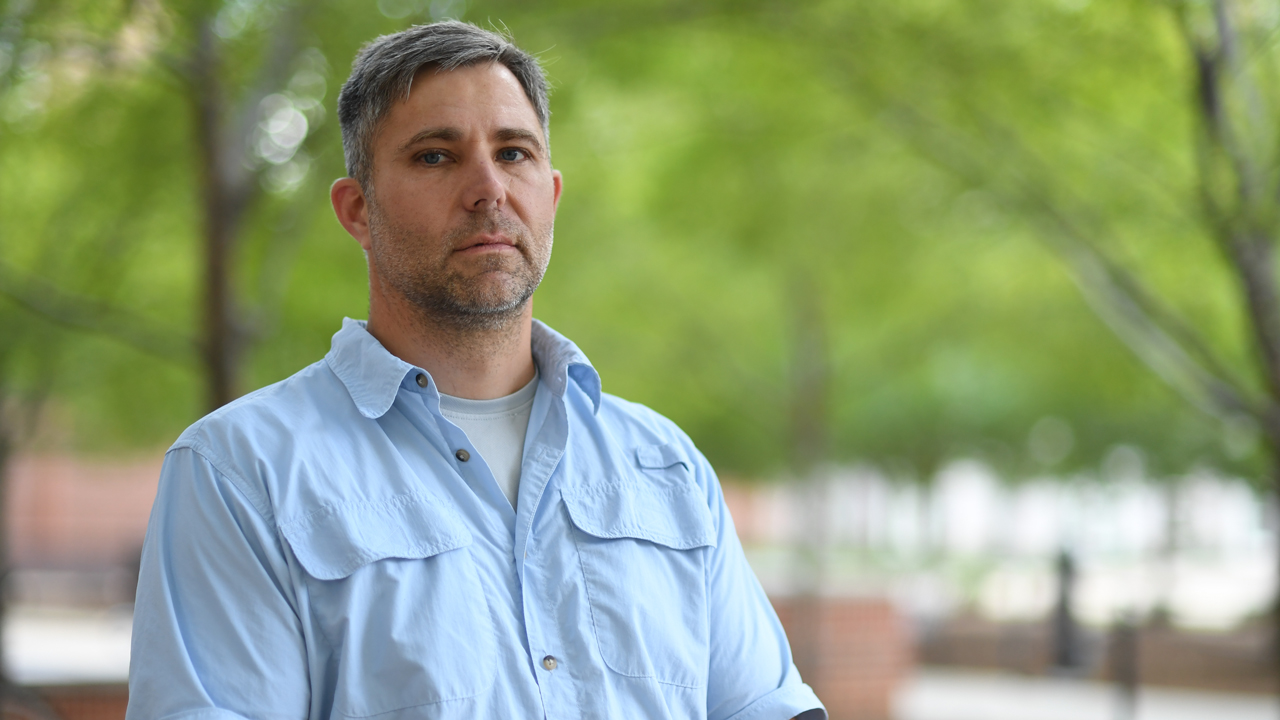 Assistant professor David Scarborough, Auburn University Department of Aerospace Engineering