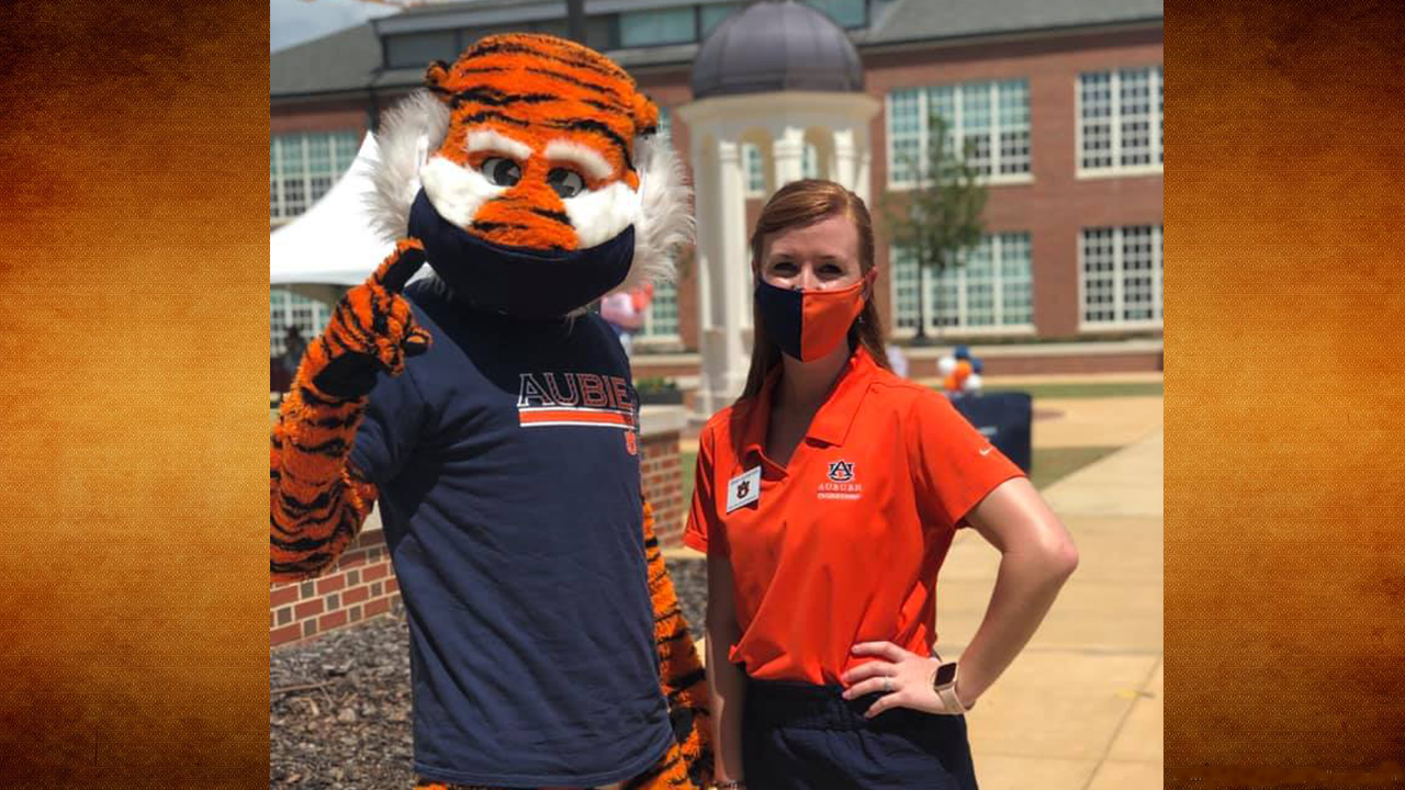 Aubie and Jenny Sconyers