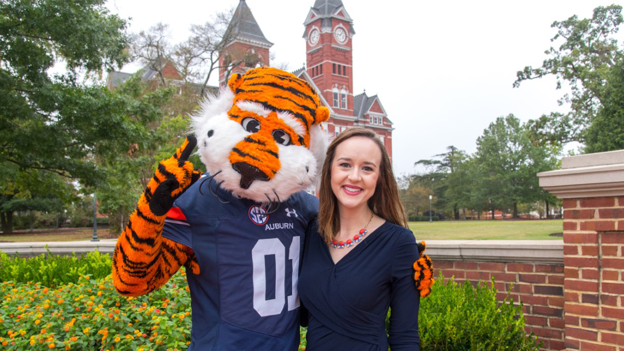 Aubie and Emily Traylor