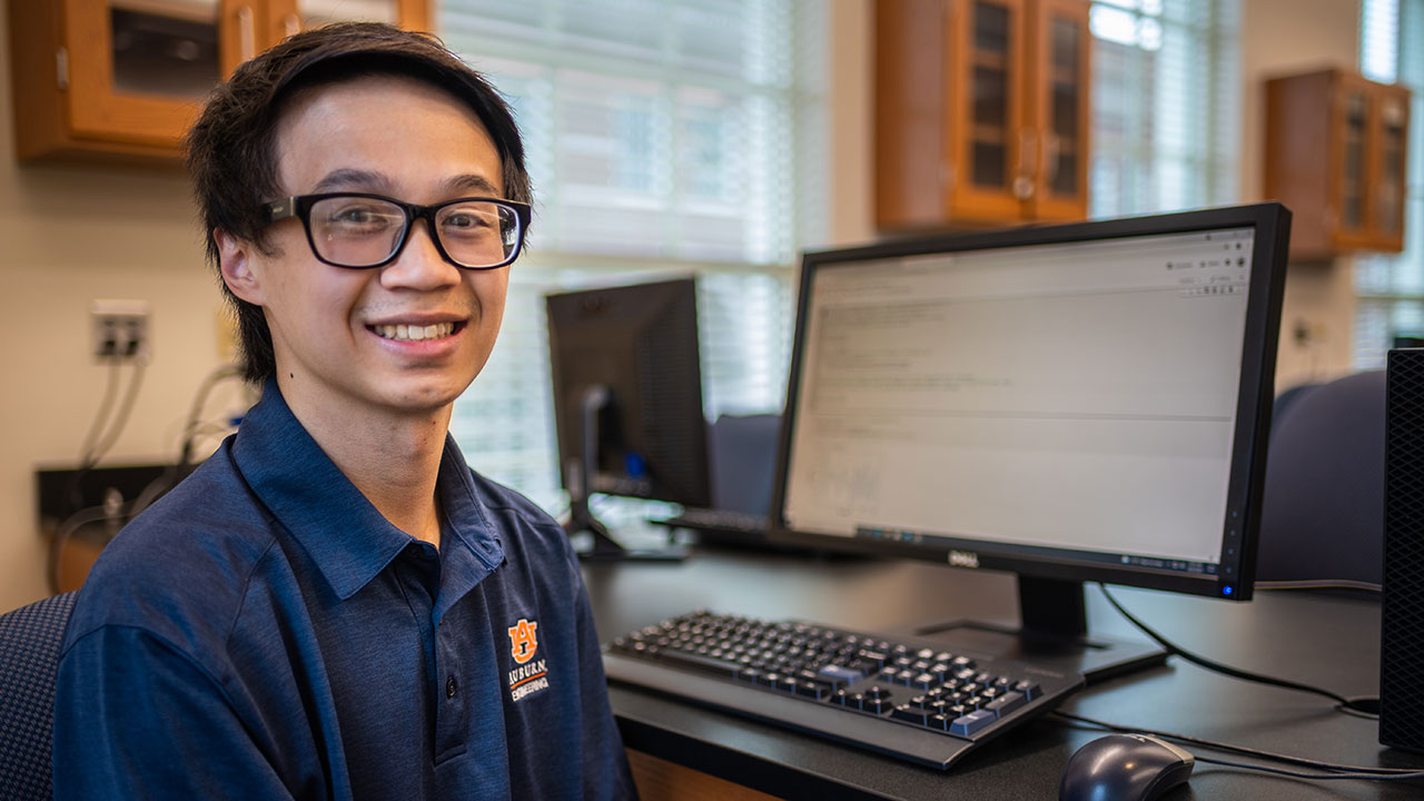 Justin Tran will begin a career at the Southern Company upon graduation in 2022.