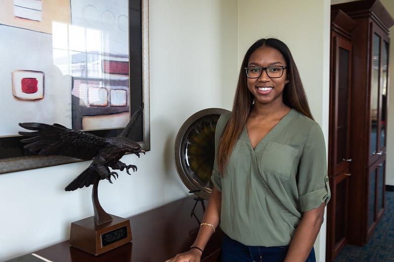 Auburn Engineering graduate Kayla Harris